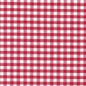 """Polycotton Fabric 1/4"""" Gingham Red"""
