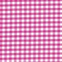 "Polycotton Fabric 1/4"" Gingham Cerise"