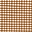 """Polycotton Fabric 1/4"""" Gingham Brown"""