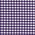 "Polycotton Fabric 1/4"" Gingham Purple"