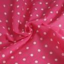 Pea Spot Polka Dots Spots Polycotton Fabric Pink