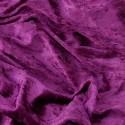 Crushed Velour Velvet Fabric Craft Dress Grape