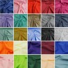 Plain Coloured Polycotton Dress Craft Fabric