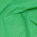 Polycotton Fabric Pin Spot Polka Dots Dotty Dress Craft Lime Green