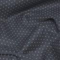 Polycotton Fabric Pin Spot Polka Dots Dotty Dress Craft Black