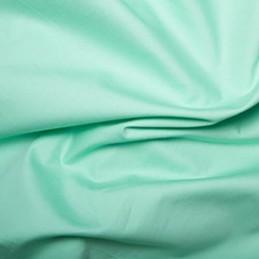 100% Plain Cotton Poplin Fabric Rose & Hubble Pistachio