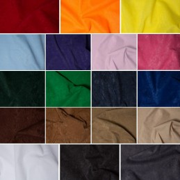 100% Polyester Faux Suede Look Suedette Dressmaking Fabric