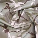 Desert Camouflage 100% Cotton Drill Fabric