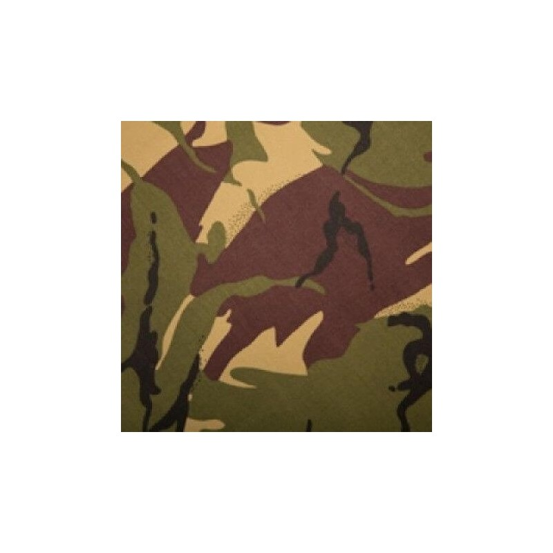Jungle Camouflage 100% Cotton Drill Fabric