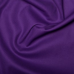 Cotton Stretch Sateen Purple