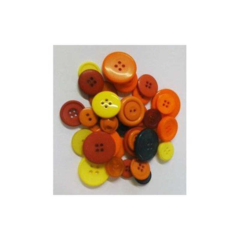 Mixed Assorted Coloured Size Card Art Craft Sewing Scrapbook Buttons