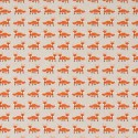 Cotton Rich Linen Fabric Curtain & Upholstery Foxes
