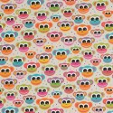 Cotton Rich Linen Fabric Curtain & Upholstery Funky Monkey