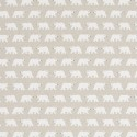 Cotton Rich Linen Fabric Curtain & Upholstery Polar Bears