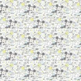 100% Cotton Patchwork Fabric Springs Creative Disney Peekaboo Mickey Baby