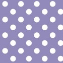 Vinyl PVC Tablecloth Easy Wipe Clean Polka Dots Lilac