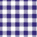 Vinyl PVC Tablecloth Easy Wipe Clean Gingham Navy