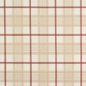 Vinyl PVC Tablecloth Easy Wipe Clean Country Check Beige
