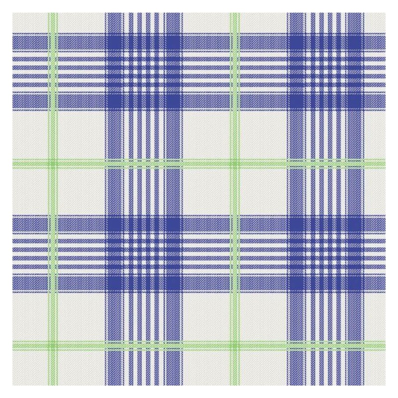 Vinyl PVC Tablecloth Easy Wipe Clean Country Check Royal Blue