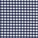 "Polycotton Fabric 1/4"" Gingham Navy"