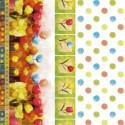 Vinyl PVC Tablecloth Easy Wipe Clean Spotty Floral
