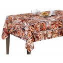 Vinyl PVC Tablecloth Easy Wipe Clean Breads