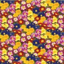 Vinyl PVC Tablecloth Easy Wipe Clean Colourful Flowers