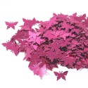 Wedding Table Confetti Scatter Sprinkle Party Decoration Foil Butterflies Hot Pink