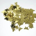Wedding Table Confetti Scatter Sprinkle Party Decoration Foil Butterflies Gold