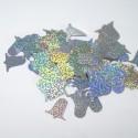 Wedding Table Confetti Scatter Sprinkle Party Decoration Foil Bells Hologram