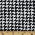 Tartan Plaid Check Polyviscose Fabric 150cm Wide, 190 gsm All Ranges Dogstooth Large