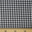 Tartan Plaid Check Polyviscose Fabric 150cm Wide, 190 gsm All Ranges Dogstooth Medium