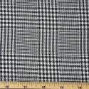 Tartan Plaid Check Polyviscose Fabric 150cm Wide, 190 gsm All Ranges Prince Of Wales Check