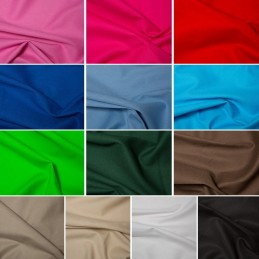 Plain Coloured 100% Cotton Canvas Upholstery Craft Fabric