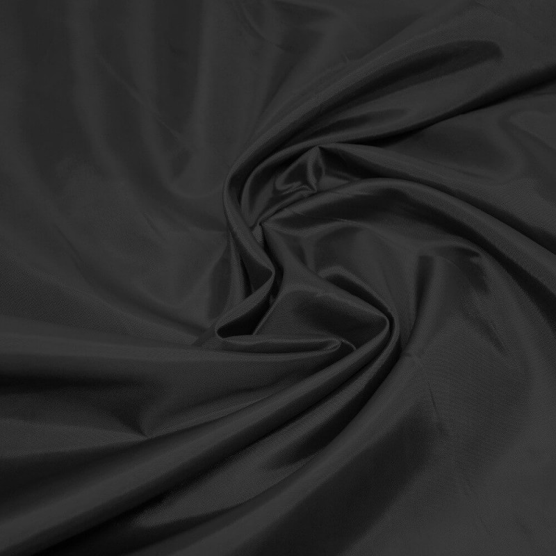 Anti Static Dress Lining Fabric Material 150cms Wide Jacket Wedding Prom Black