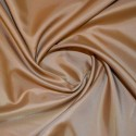 Anti Static Dress Lining Fabric Material 150cms Wide Jacket Wedding Prom Camel