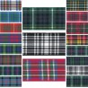 Berisfords Scottish Woven Tartan Ribbon 7mm To 70mm