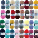 Patons Fab DK Yarn 100g Machine Washable 100% Acrylic