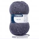 Patons Fab DK Yarn 100g Machine Washable 100% Acrylic Grey-Blue Tweed