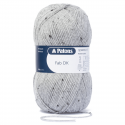 Patons Fab DK Yarn 100g Machine Washable 100% Acrylic Light Grey Tweed