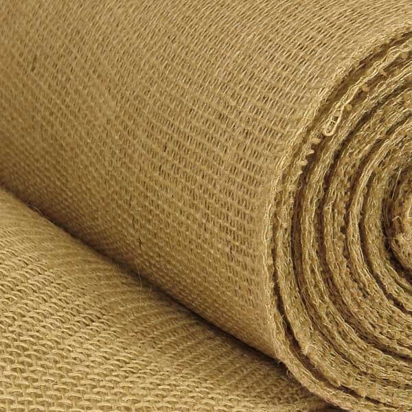 "Hessian 10oz 100% Jute Natural Sacking 40"" Wide"