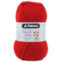 Patons Fairytale Fab Baby Smiles 4 Ply 50g Yarn Red