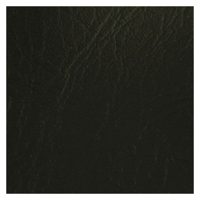 Black Leatherette Vinyl Fabric Fire Retardant Faux Leather Upholstery Fabric