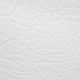White Leatherette Vinyl Fabric Fire Retardant Faux Leather Upholstery Fabric