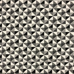 Big Holland Black & White Tapestry New World Designer Fabric Ideal For Upholstery Curtains Cushions Throws