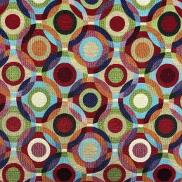 Big Lollipop Tapestry New World Designer Fabric Ideal For Upholstery Curtains Cushions Throws