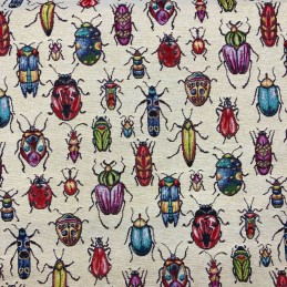 Bugs Tapestry New World Designer Fabric Ideal For Upholstery Curtains Cushions Throws
