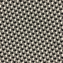 Hounds Tooth Black & White Tapestry New World Designer Fabric Ideal For Upholstery Curtains Cushions Throws