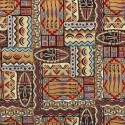 Kenya Tapestry New World Designer Fabric Ideal For Upholstery Curtains Cushions Throws