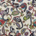Lemur Tapestry New World Designer Fabric Ideal For Upholstery Curtains Cushions Throws